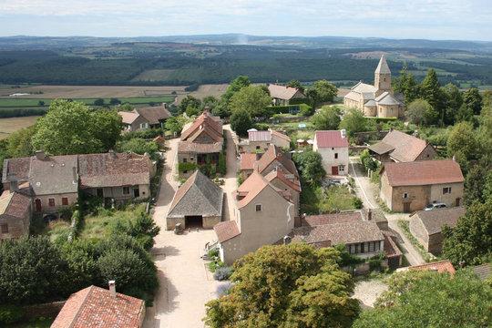 Il villaggio di Brancion