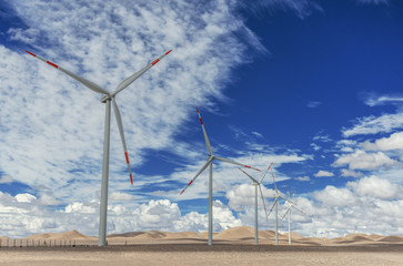wind generators in Atacama