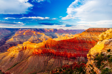 Mather Point, View Point, Grand Canyon National Park, Arizona, U Wall mural