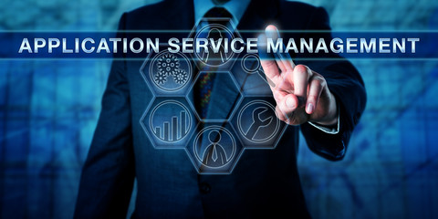 End-User Touching APPLICATION SERVICE MANAGEMENT