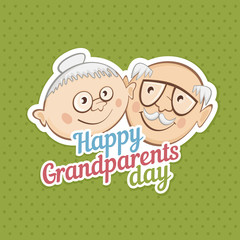 Greetings on grandparents day.