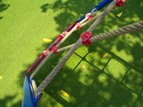 Rope ladder on Playground