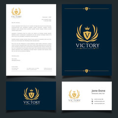 Luxury Logo and Corporate Identity Template.Hotel   and spa logo template.