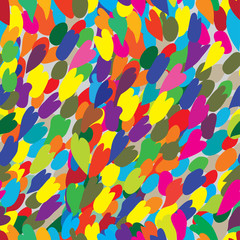 Abstract color seamless graphic pattern, modern design