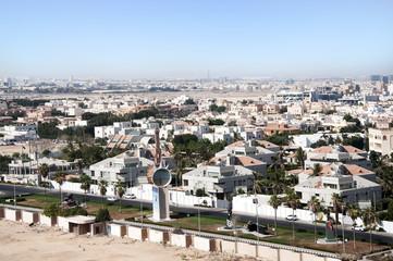 houses of Jeddah city in Saudi Arabia