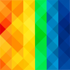 Colored Abstract Mosaic Background