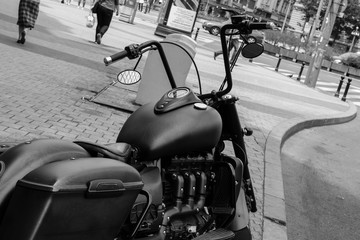 old timer motorcycle