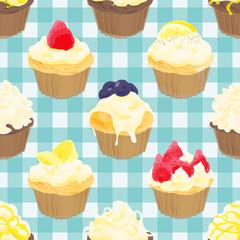 パターン・カップケーキ