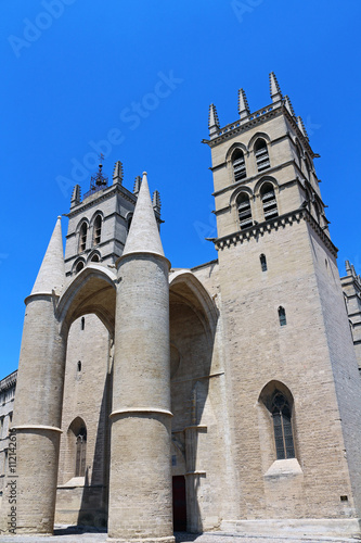 Cath drale saint pierre de montpellier stock photo and royalty free images on - Cathedrale saint pierre de montpellier ...