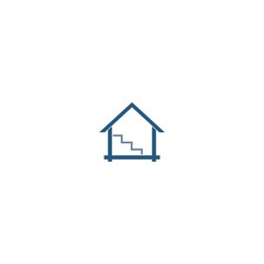 house abstract logo