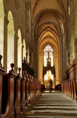 Hauptschiff Kirche Heiligenkreuz