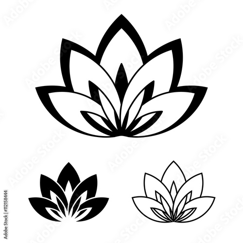 Lotus flower as a symbol of yoga stock image and royalty free lotus flower as a symbol of yoga mightylinksfo