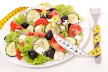 diet food concept,vegetable salad