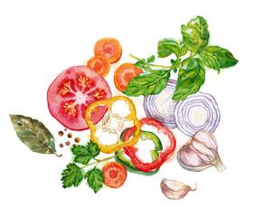 овощи и травы