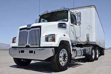 White american truck