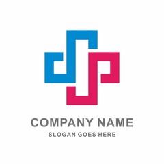 Medical Pharmacy Healthcare Cross Vector Logo Template