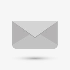 Communication design. email icon. Flat illustration