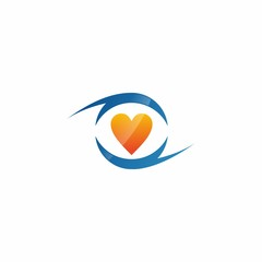 Hearts Love Logo Icon