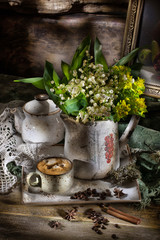 Still Life With Lily Of The Valley