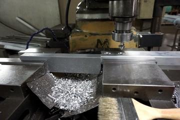 milling machine process
