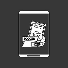 Sport design. Technology icon. white background, vector illustration