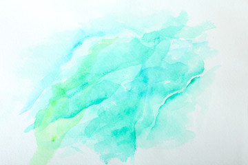 Abstract watercolor background for textures and backgrounds. Hand painted art.