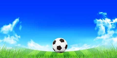サッカー 空 風景 背景