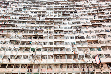 Residential buildings in Hong Kong
