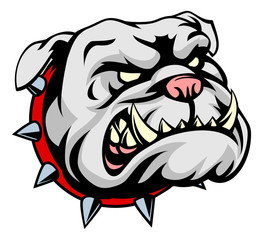 Bulldog Cartoon Mascot