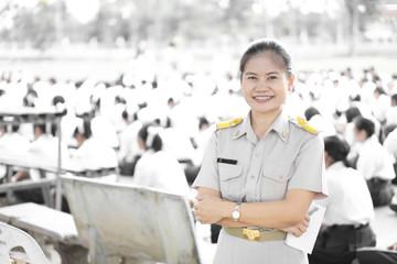 Thai teacher uniform