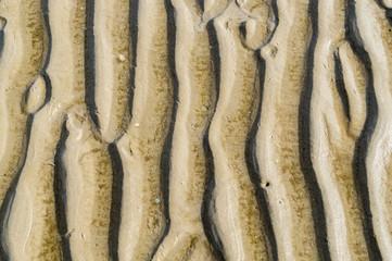 Wellenmuster Sand