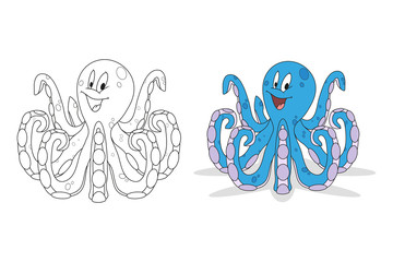 funny octopus set