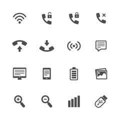 tehnology icon black