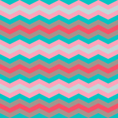 pastel colors zig zag seamless pattern