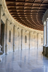 Palace of Carl V in Alhambra