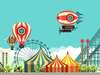 Carnival Amusement Park