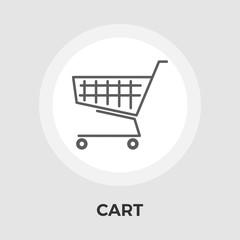 Cart Flat Icon