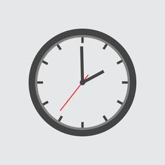 Clock Icon vector flat