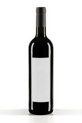 Still Life professionale, Modello di bottiglia di vino con etichetta bianca in differenti formati. Eccellente per post-produzioni digitali