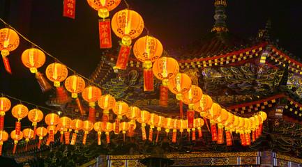 中華街の提灯