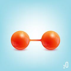 oxygen molecule