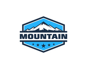Mountain Emblem Logo