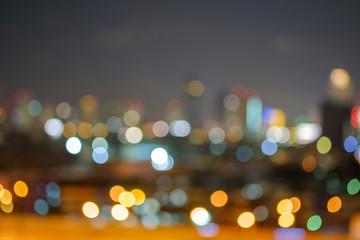Light in the night.