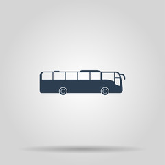 Bus Icon. Vector concept illustration for design