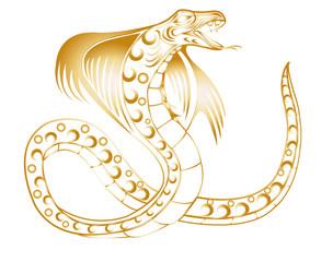 gold schlange