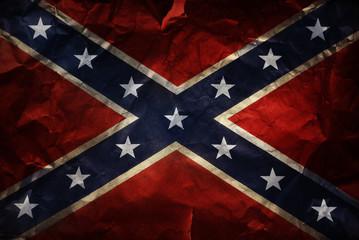 Confederate flag Fototapete