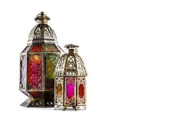 Oriental light lantern Arabic decoration
