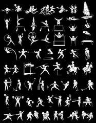Sport icons for many sports