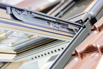 Roof window system
