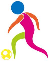 Sport logo design for soccer